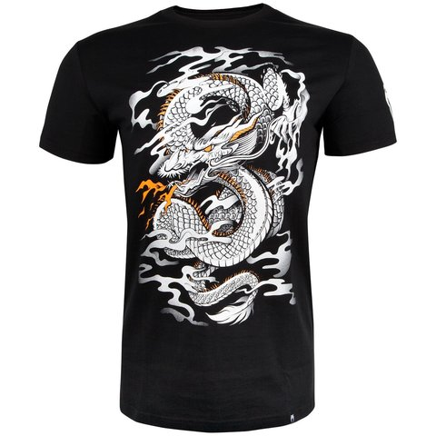 Футболка Venum Dragon's Flight T-shirt - Black/White