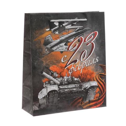 Пакет «Железная воля» 23×27×8см
