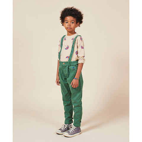 Брюки Bobo Choses Boy Patch Braces