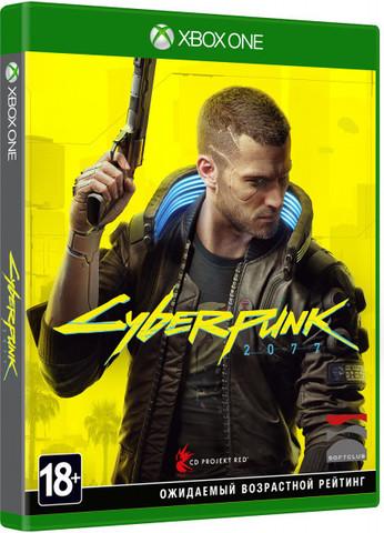 Xbox One Cyberpunk 2077 (русская версия)