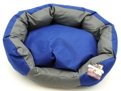 Yugi Лежанка комбинированная серо-синяя