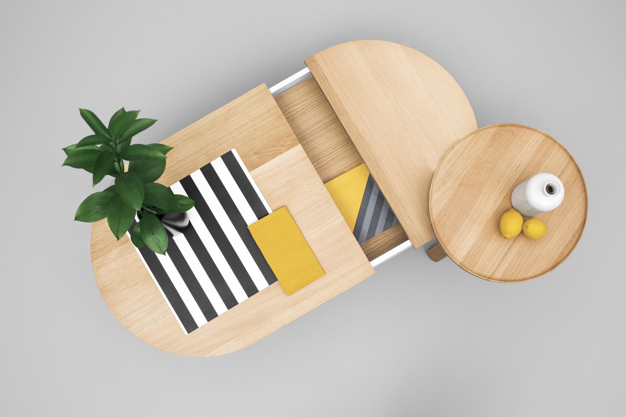 Журнальный стол Woodendot BATEA L