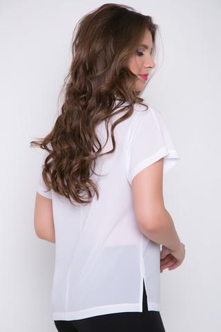 <p><span>Стильная блузка для очаровательной миледи. Рукав кимоно.</span></p> <p>(Длины: 44-60см; 46-61см; 48-62см; 50-63см;52-64см)</p>