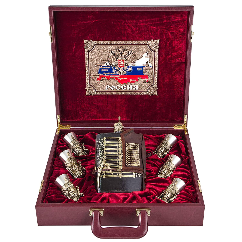 """Подарочный набор VIP """"Гусарский"""", в кейсе от 42 800 руб"""