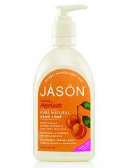 Смягчающее жидкое мыло с маслом абрикоса, Jason