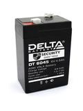 Аккумулятор Delta DT 6045 ( 6V 4,5Ah / 6В 4,5Ач ) - фотография