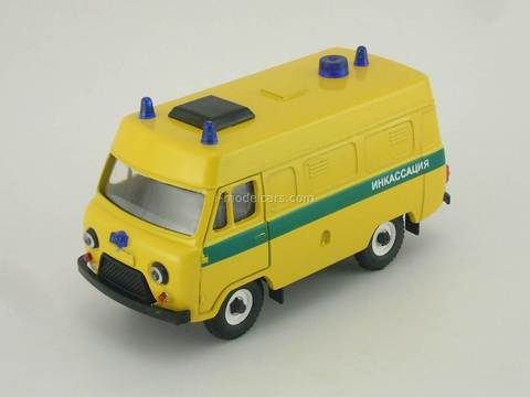 UAZ-3962 Encashment high roof Agat Mossar Tantal 1:43
