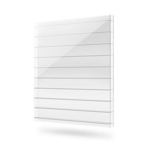 Прозрачный козырек для крыльца Кровент 1500