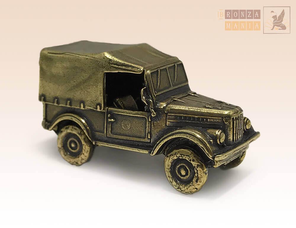 фигурка Автомобиль ГАЗ-69 с тентом - Козлик