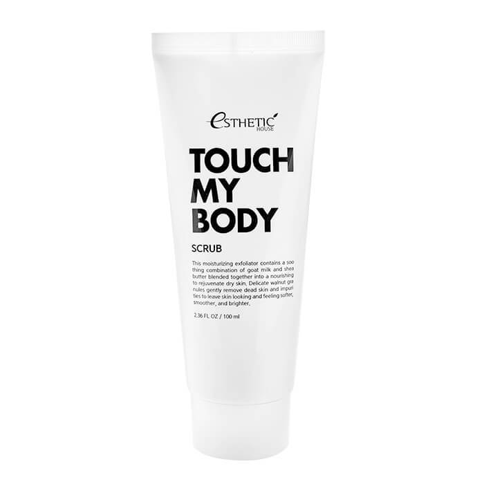 Скраб Для Тела (Esthetic House Touch My Body Goat Milk Body Scrub)