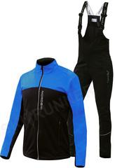 Детский утеплённый лыжный костюм Nordski Active Blue-Black 2020