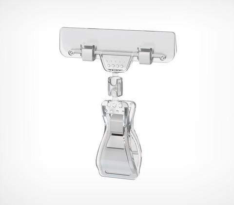 Ценникодержатель универсальный FX-CLAMP, без ножки