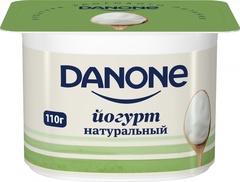 """Йогурт """"Danone"""" густой натуральный  3,3% 110г"""