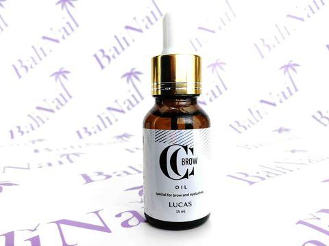 CC BROW, Масло Brow oil для бровей и ресниц, 15 мл