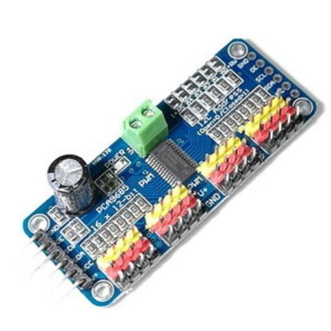 ШИМ контроллер PCA9685 16 каналов