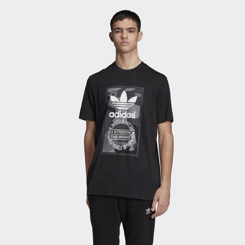 Футболка мужская adidas ORIGINALS CAMOUFLAGE TONGUE LABEL