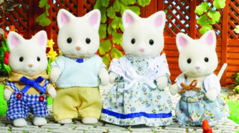 Семейка шелковых котов Sylvanian families 4175 (3143)