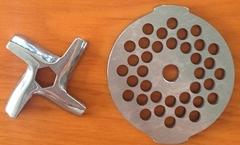 нож и решетка для мясорубки Мулинекс