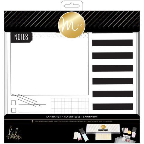 Набор для создания ежедневника Minc Lamination Clipboard Planner на машинке  MINC от Heidi Swapp.