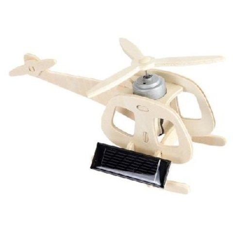 3D -пазл Вертолет, двигатель на солнечной батарее