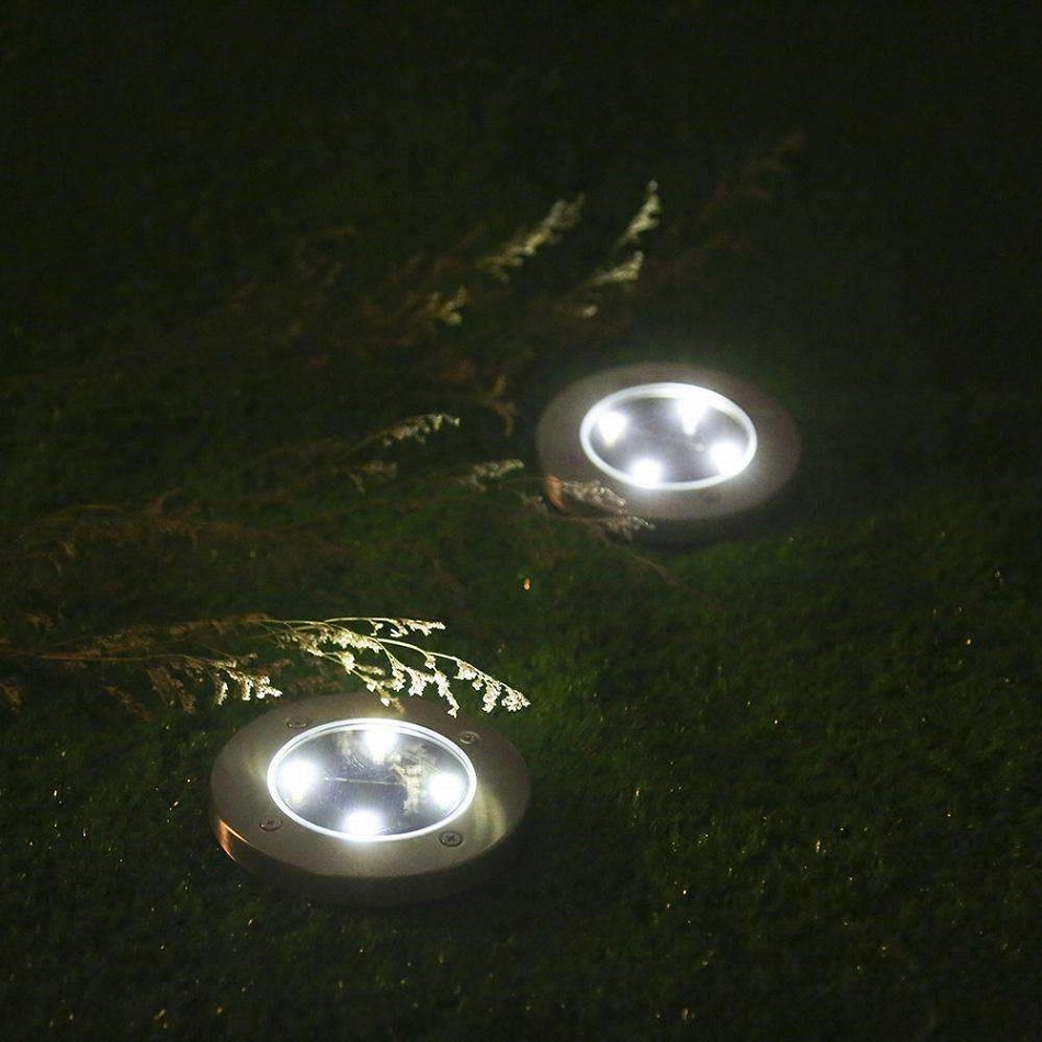Solar Pathway Lights 4 LED