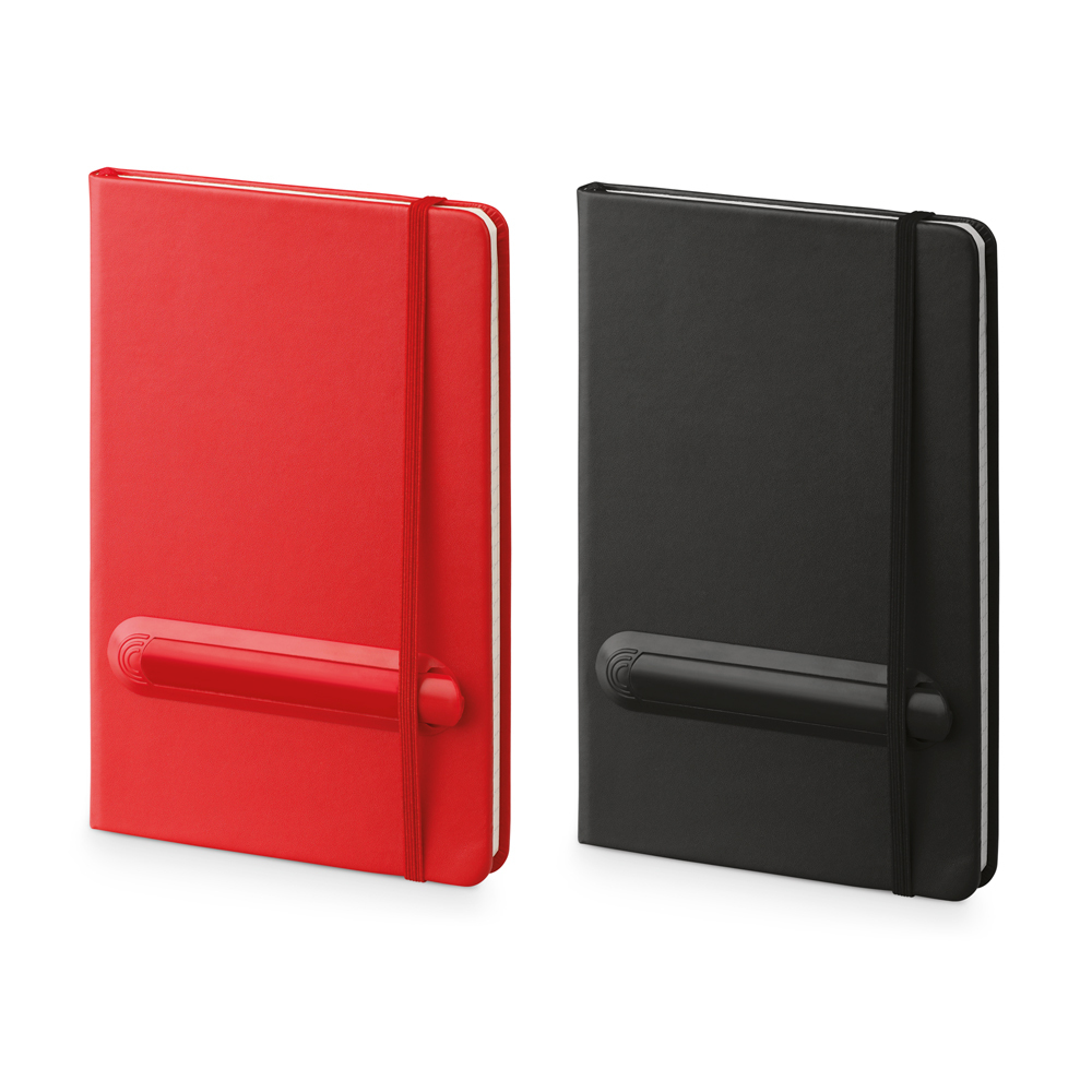 Linked Notebook, red
