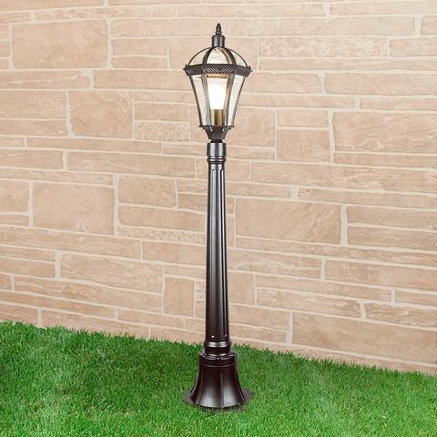 Уличный светильник на столбе IP44 Capella F черный