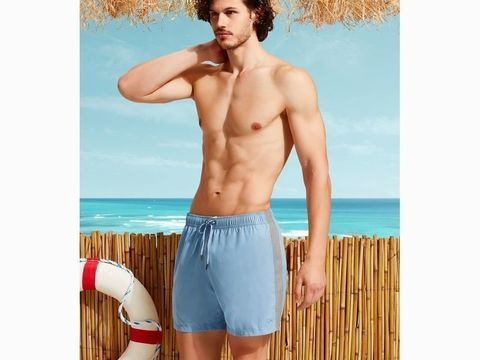 Мужские шорты-плавки голубые DOREANSE 3801