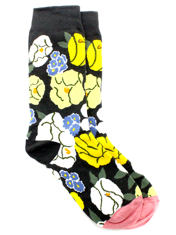 Носки Цветы