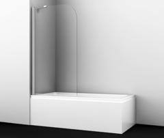 Шторка для ванны WasserKRAFT Leine 35P01-80 Fixed с фиксатором