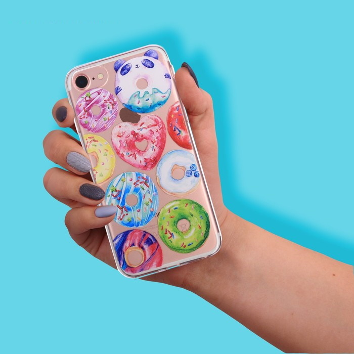 Чехол для телефона iPhone 6, 6S, 7 Donut фото