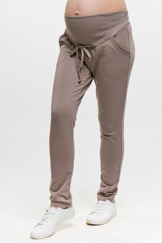 Спортивные брюки для беременных 11771 визон