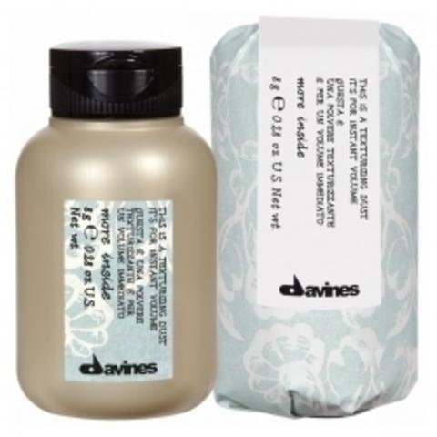 Texturizing dust - Пудра-текстуризатор More Inside для мгновенного обьема волос