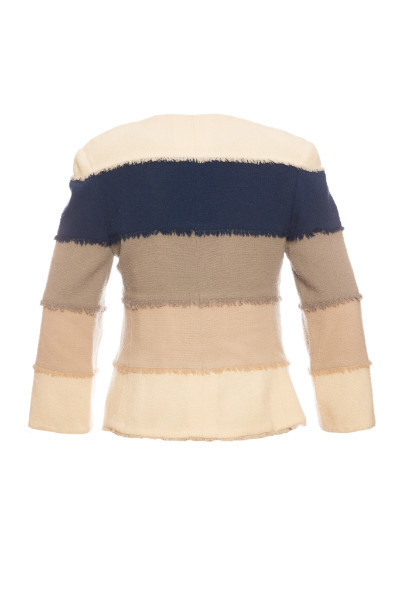 Легкий и стильный твидовый жакет от Chanel, 42 размер