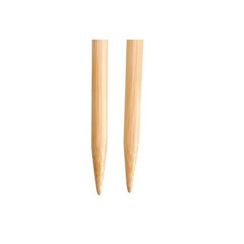 Спицы ChiaoGoo съемные бамбуковые  13 см 4,5мм