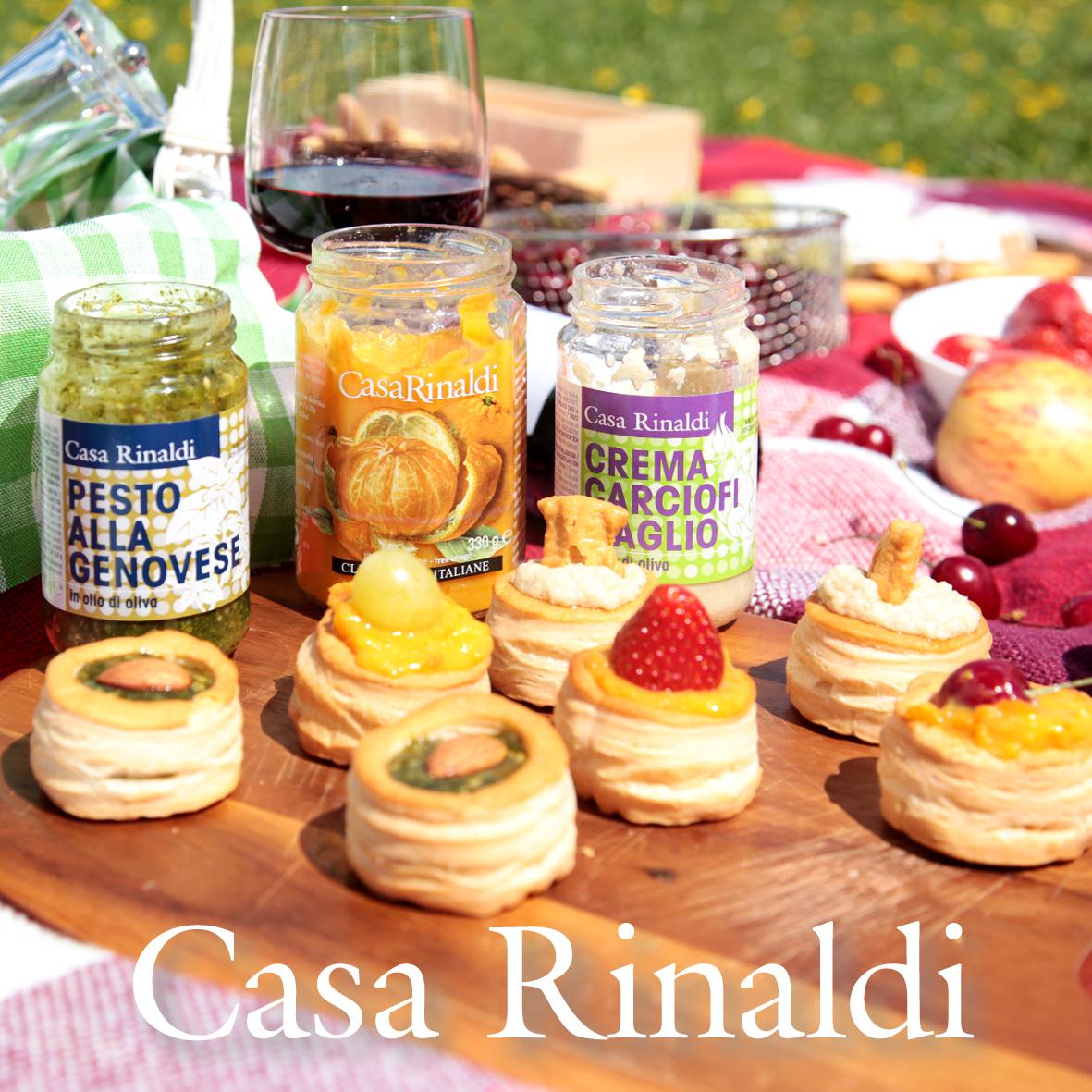 Крем-паста Casa Rinaldi из артишоков с чесноком в оливковом масле 500 г