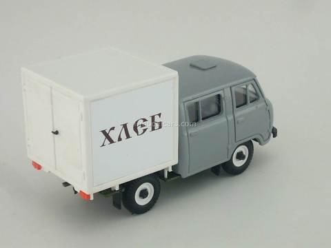 UAZ-39094 Farmer Van Bread gray metal Agat Mossar Tantal 1:43
