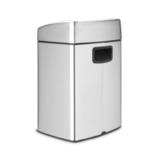 Прямоугольный мусорный бак Touch Bin (10 л, артикул 477225, производитель - Brabantia, фото 2