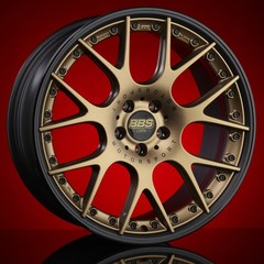 Диск колесный BBS CH-R II 9.5x20 5x112 ET25 CB82.0 satin bronze