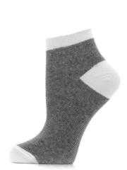 C17-2 носки женские, бело/черные (10шт)