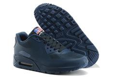 Кроссовки мужские Nike Air Max 90 HyperFuse Independence Day  Dark Blue