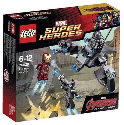 LEGO Super Heroes: Железный человек против Альтрона 76029 — Iron Man vs. Ultron — Лего Супергерои Marvel Марвел DC Comics комиксы