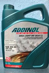 ADDINOL GigaLight mv0530LL 5W30 5л