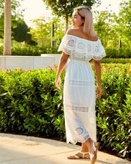 летнее платье в пол nadya