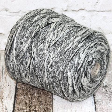 Фасонная полушерсть Gi TI BI / JARIN 180 бело-серый