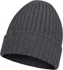 Вязаная шерстяная шапка Buff Hat Wool Knitted Norval Grey