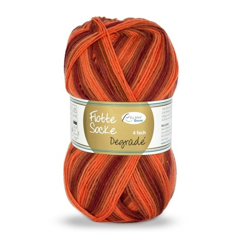 Носочная пряжа Rellana Flotte Socke Degrade 1464 купить