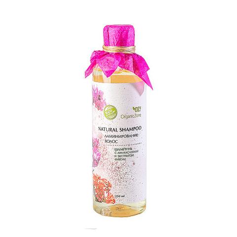 Шампунь с AHA-кислотами Ламинирование волос | Organic Zone