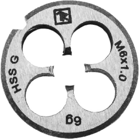 MD508 Плашка D-COMBO круглая ручная М5х0.8, HSS, Ф20х7 мм