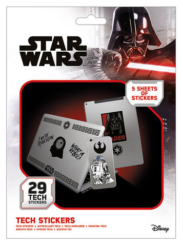 Набор Tech-стикеров «Звёздные войны»